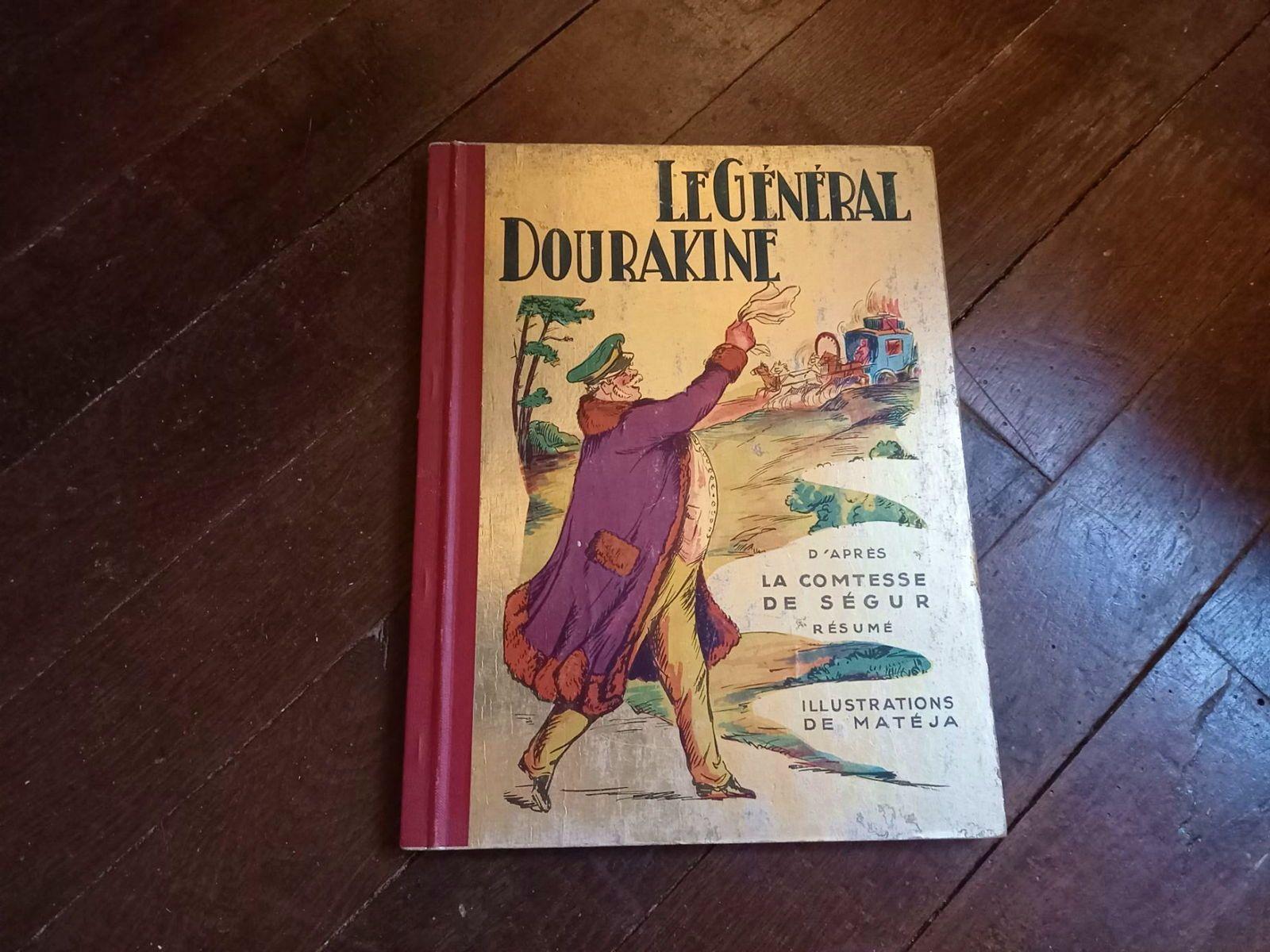 Livre ancien 1952Général Dourakine Comtesse de Ségur