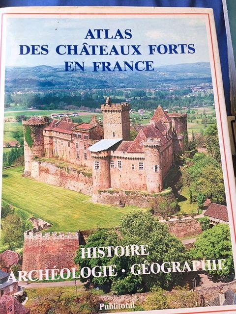 Livre d'art sur les châteaux forts en France