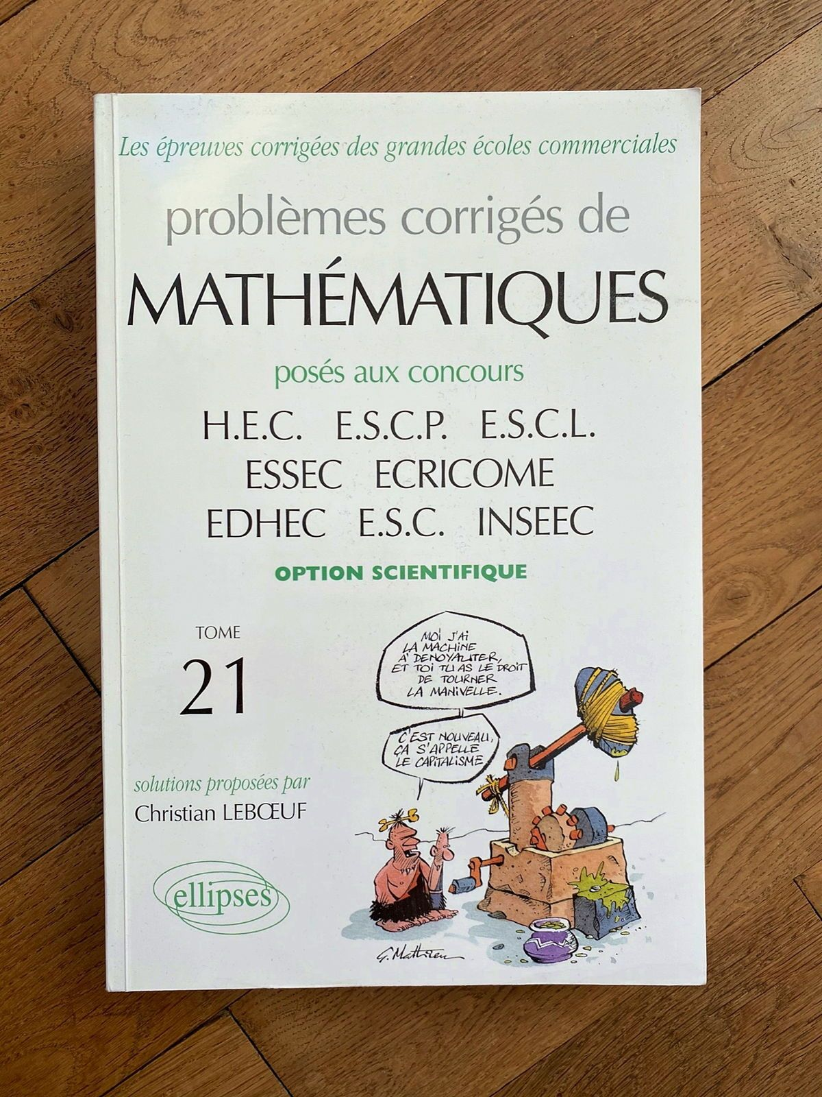 Livre Maths ECS