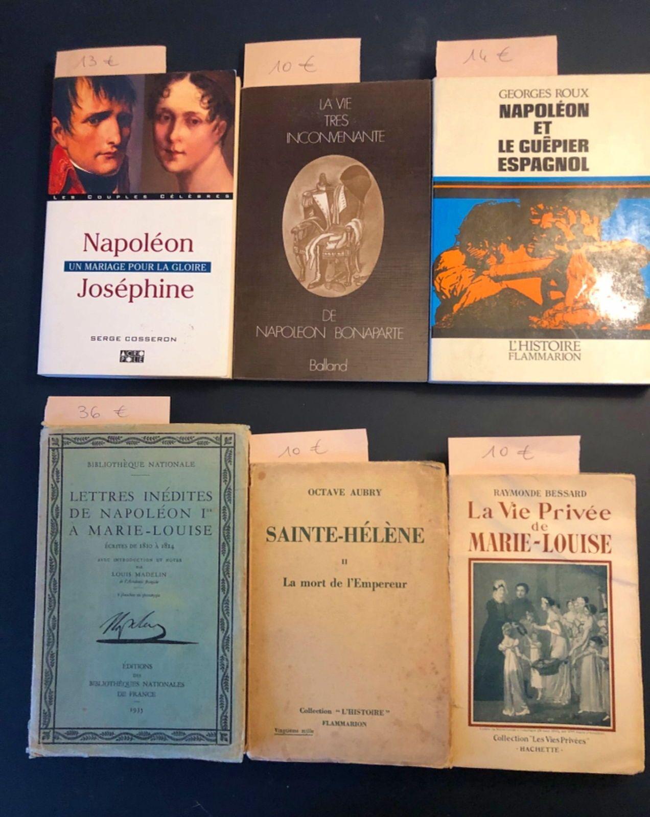 12livres anciens sur Napoléon