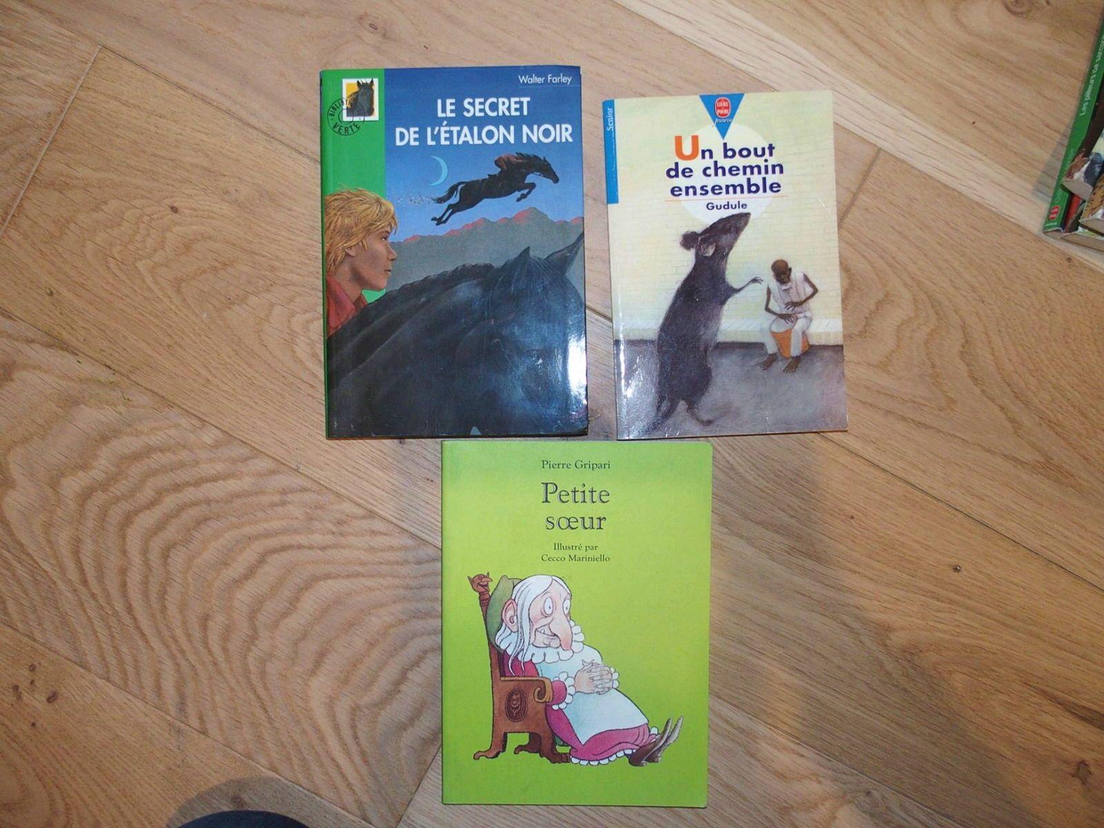 Lots de livres par tranche d'âge (publication 3/4)