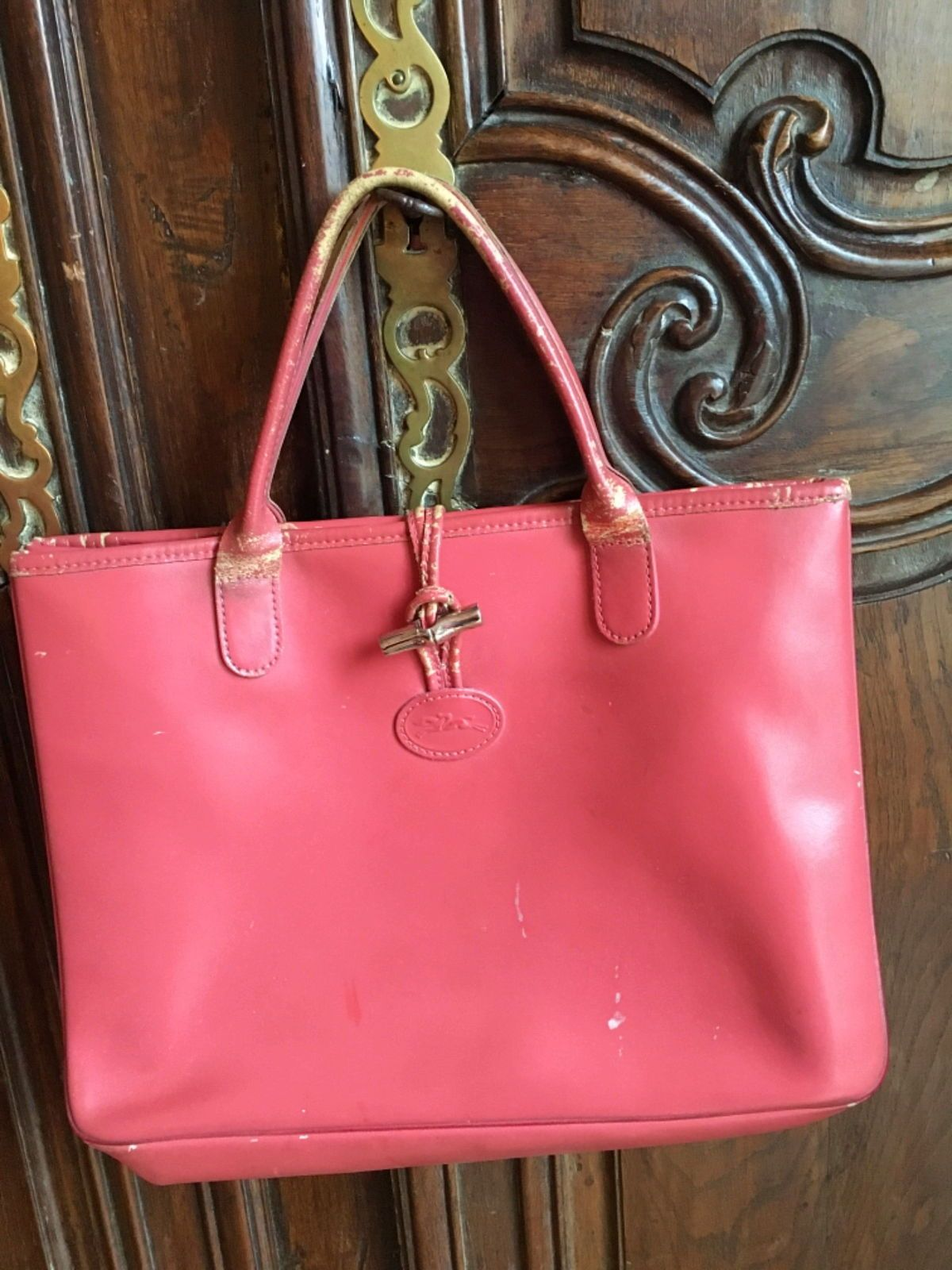 Sac Longchamp Rose