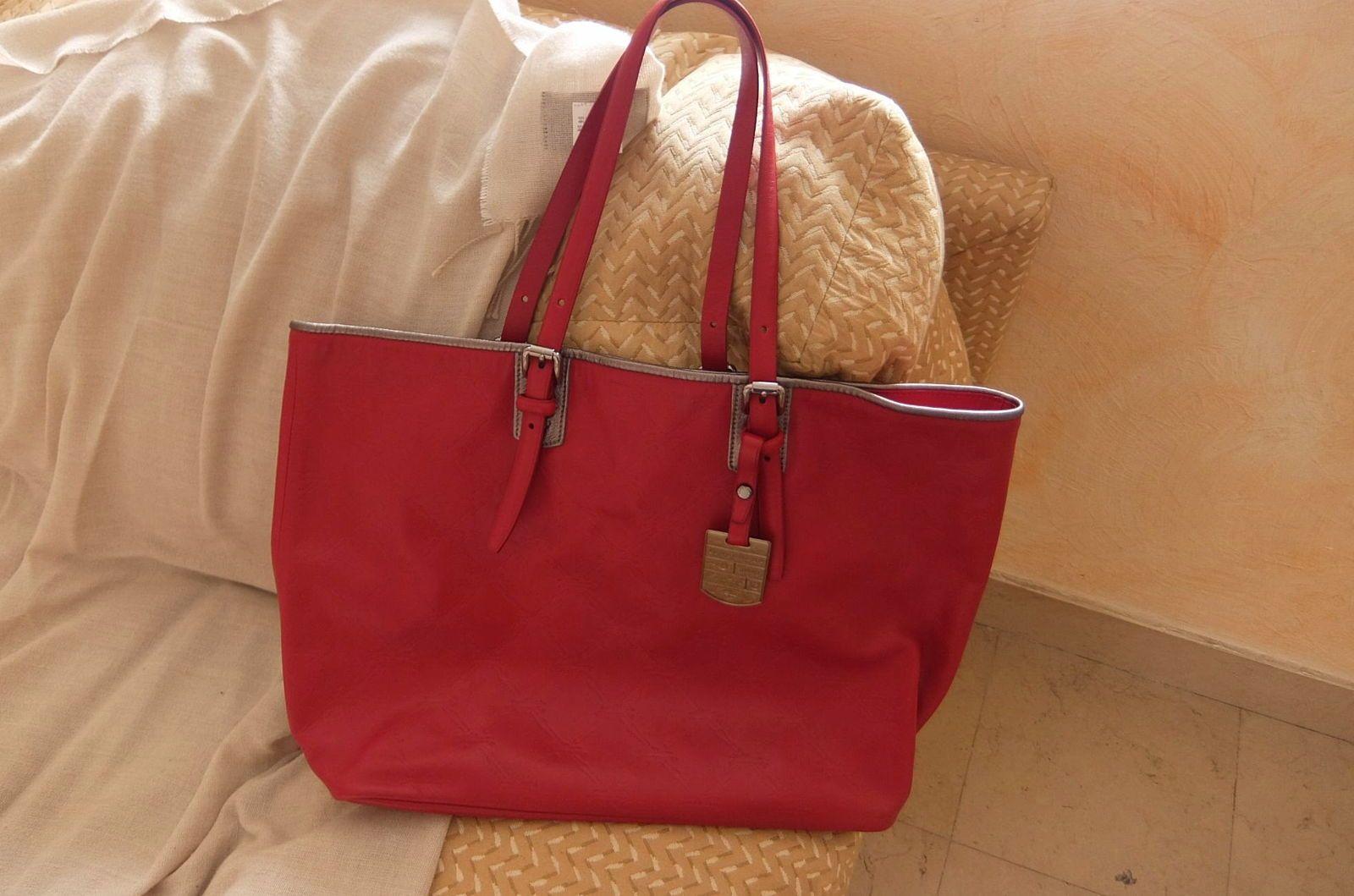 Tres beau sac Longchamp, rouge, neuf