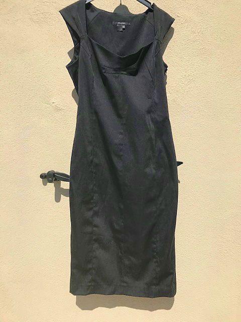 Robe longue noire Zara 42