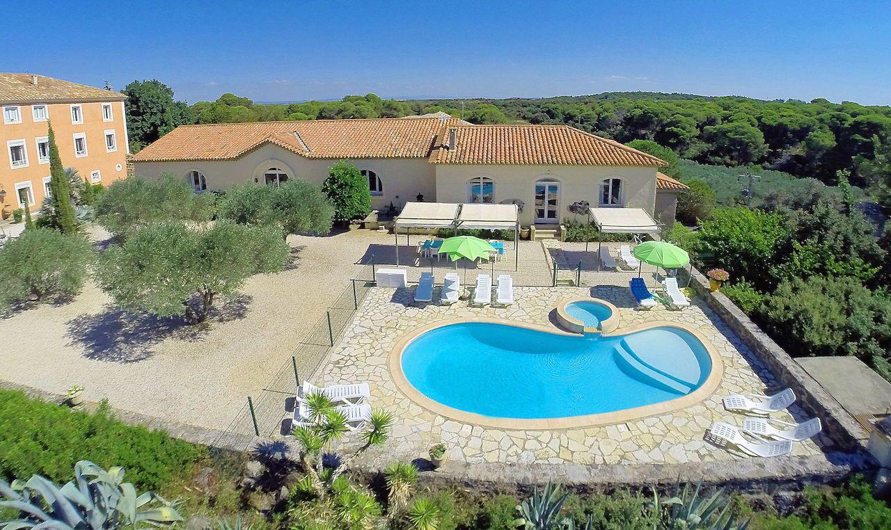 Loue maison de famille 13couchages à Portiragnes,proche des plages