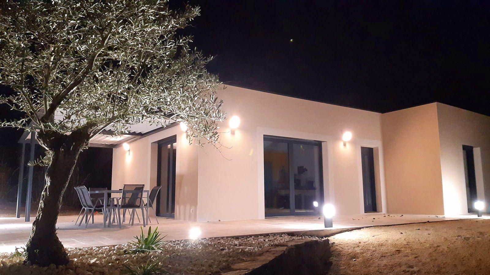 Loue Maison neuve Drôme des collines 2chambres 5couchages