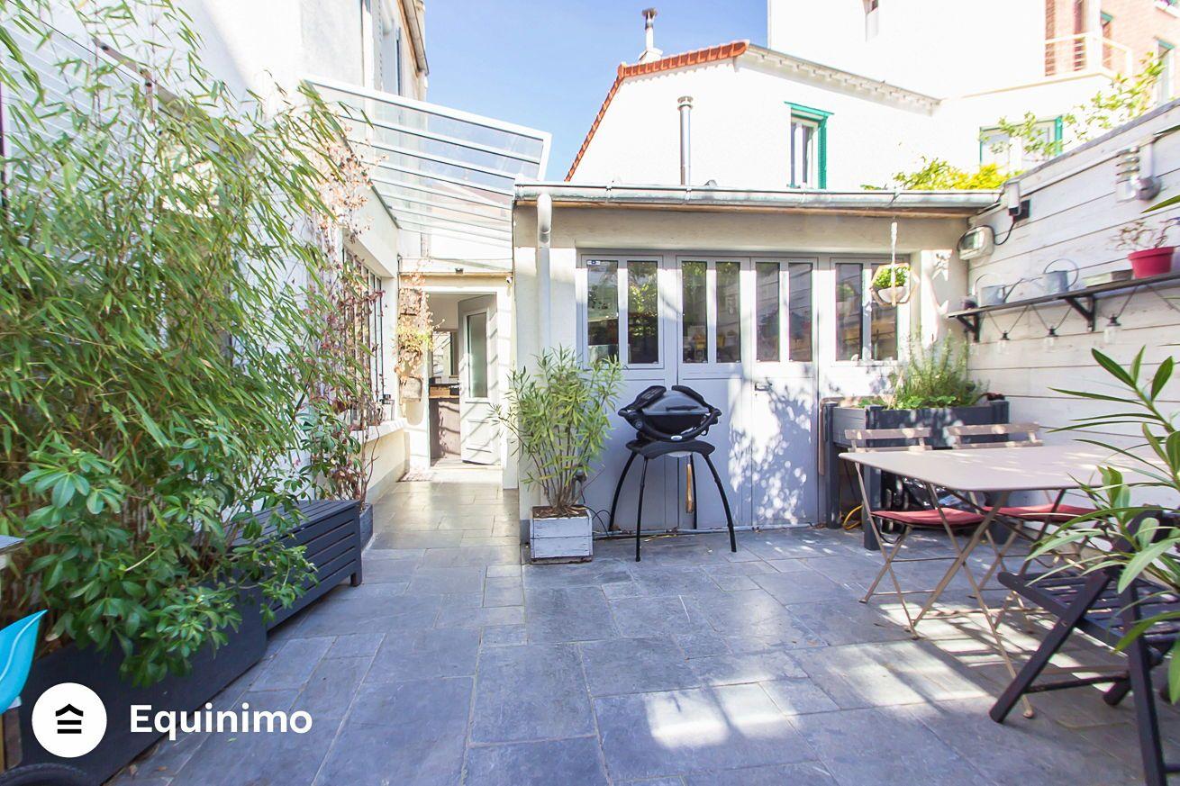 Vends maison lumineuse de 108m² 3chambres en parfait état située rue Raymond Ridel -, La Garenne-Colombes (92)