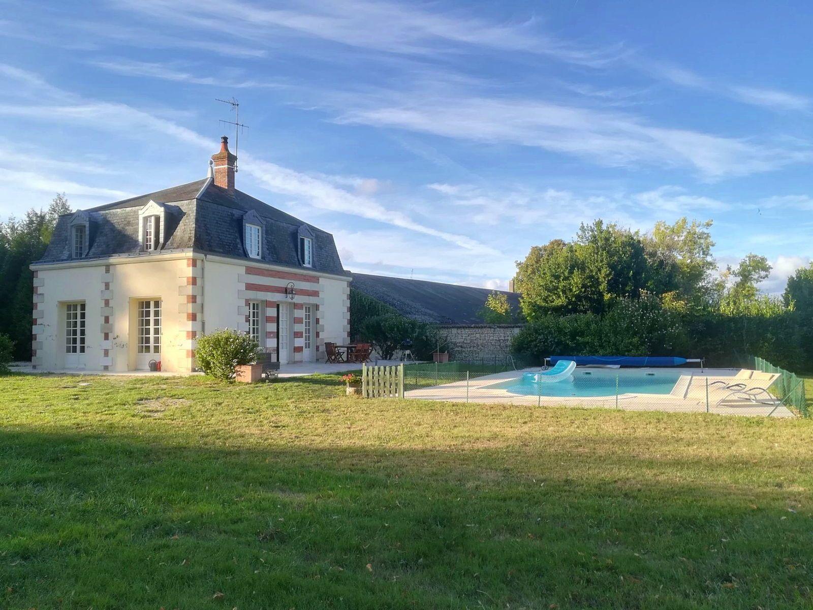 Loue maison 6/7personnes + piscine - entre Touraine et Poitou
