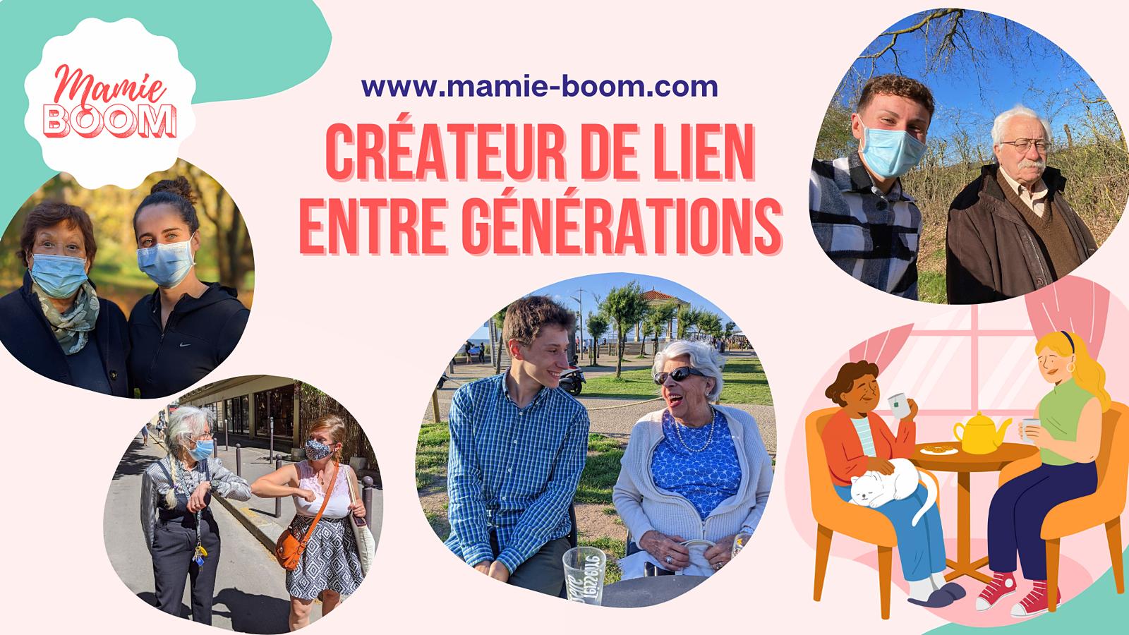 Mamie-Boom propose compagnie aux personnes âgées à Courbevoie