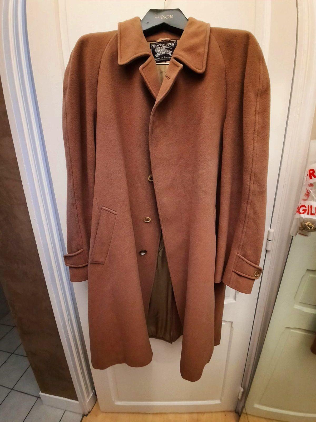 Manteau d'hiver vintage de marque Burberry's taille 44