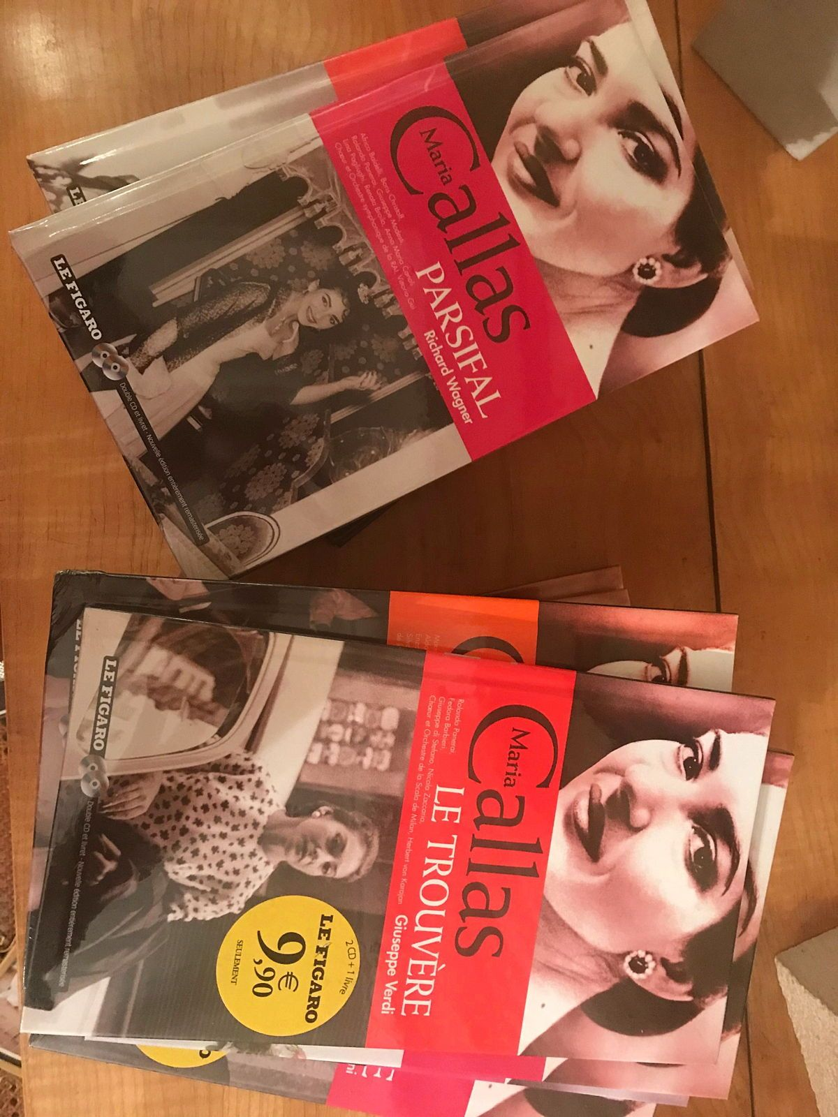 Maria Callas - Double CD + Livret - Collection Le Figaro