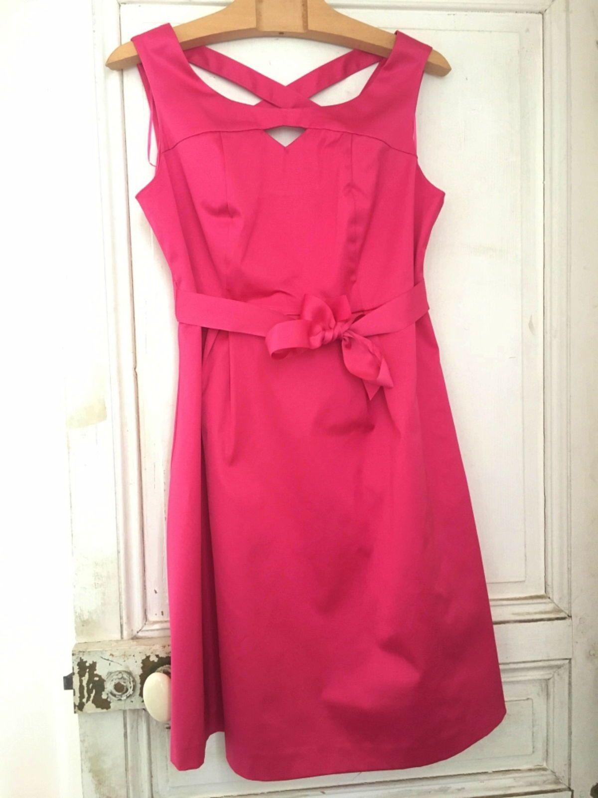 Robe rose mariage ou soirée, taille M