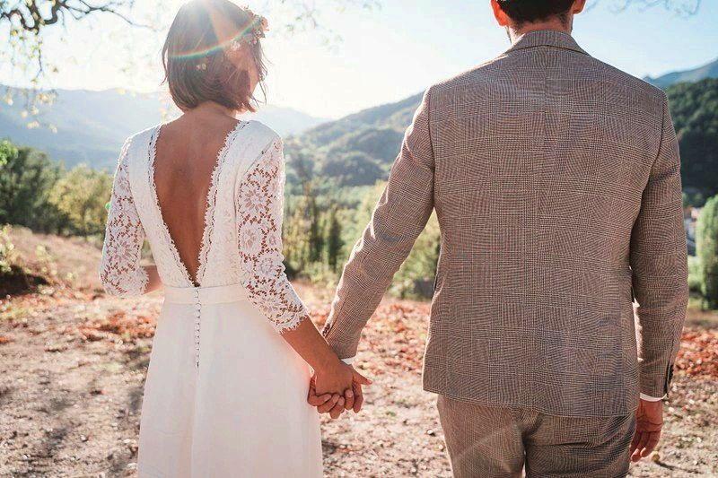 Robe de mariée - Couturière Odile Léonard