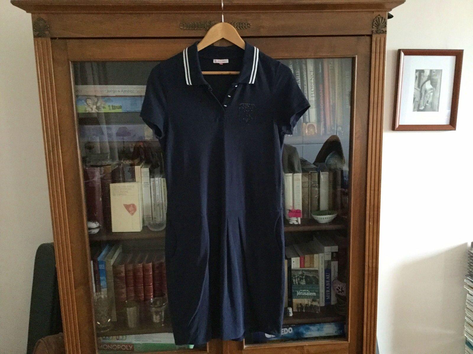 Robe bleu marine taille L, état neuf