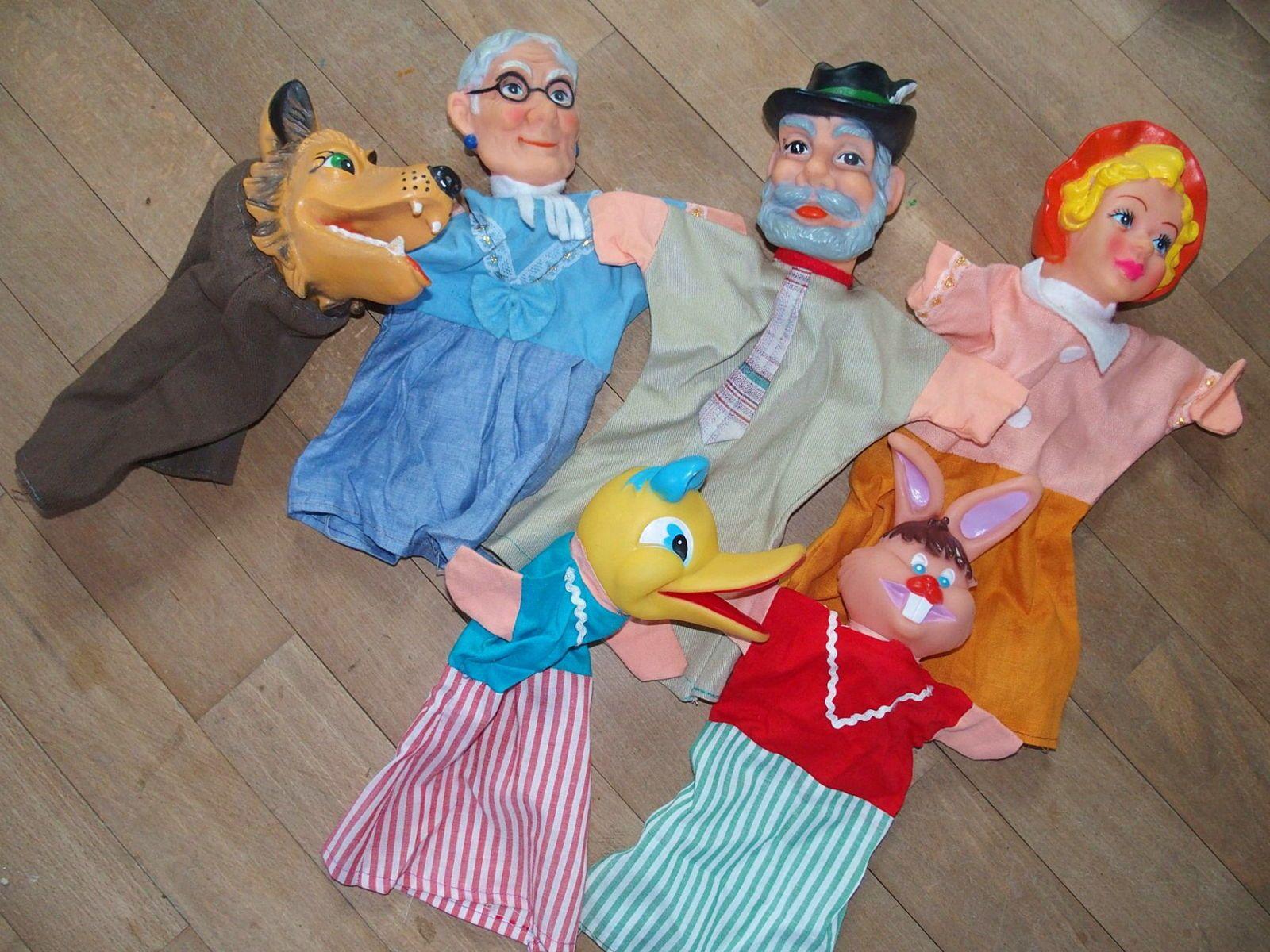 Lots de marionnettes