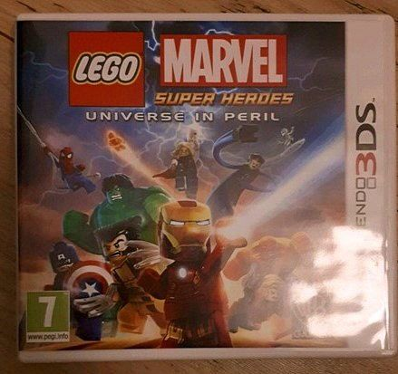 Jeu 3ds lego marvel super héros universe in peril