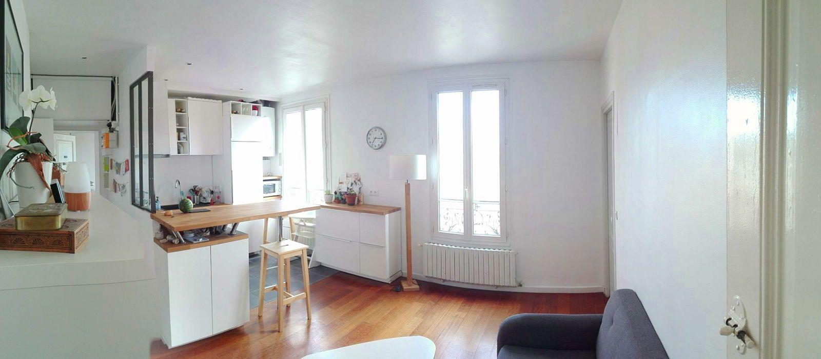 Loue T3meublé 51m² quartier Flachat - 2chambres, Asnières-sur-Seine