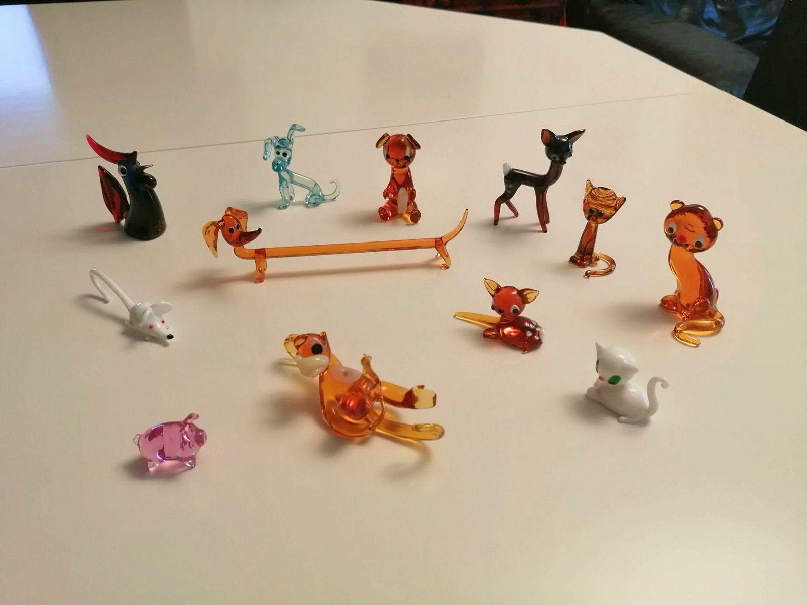 Miniatures d'animaux vintage