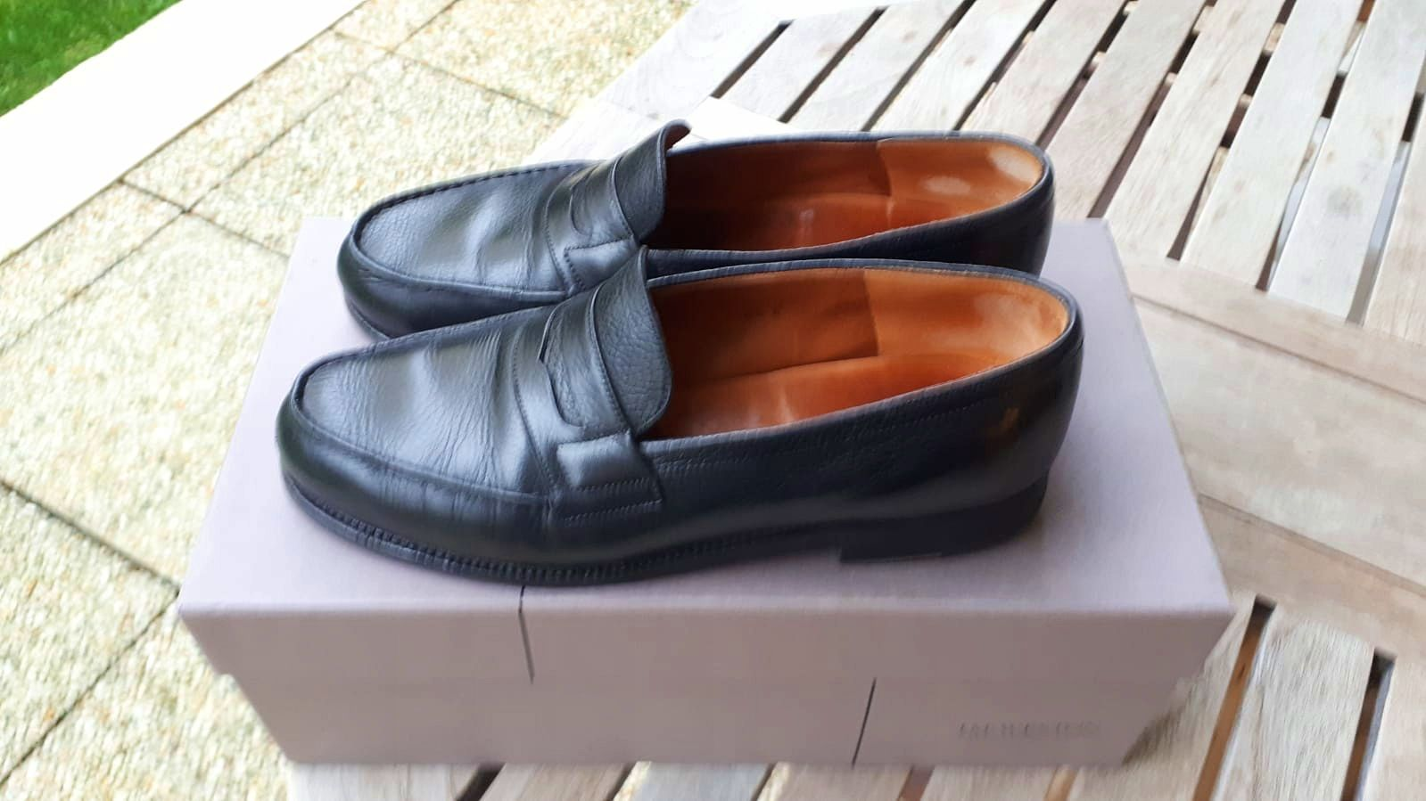 Mocassins WESTON noirs - Pointure 42