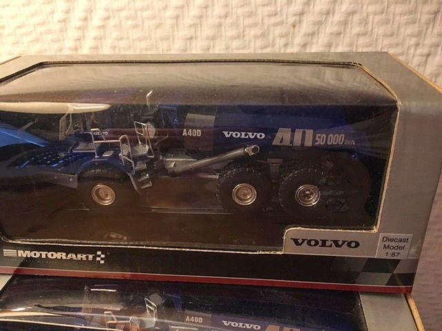 Modèle réduit VOLVO A40D échelle 1/87è