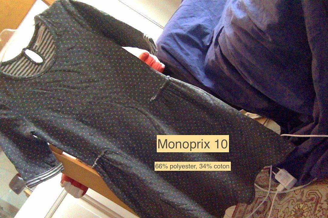 Robe Monoprix 10ans