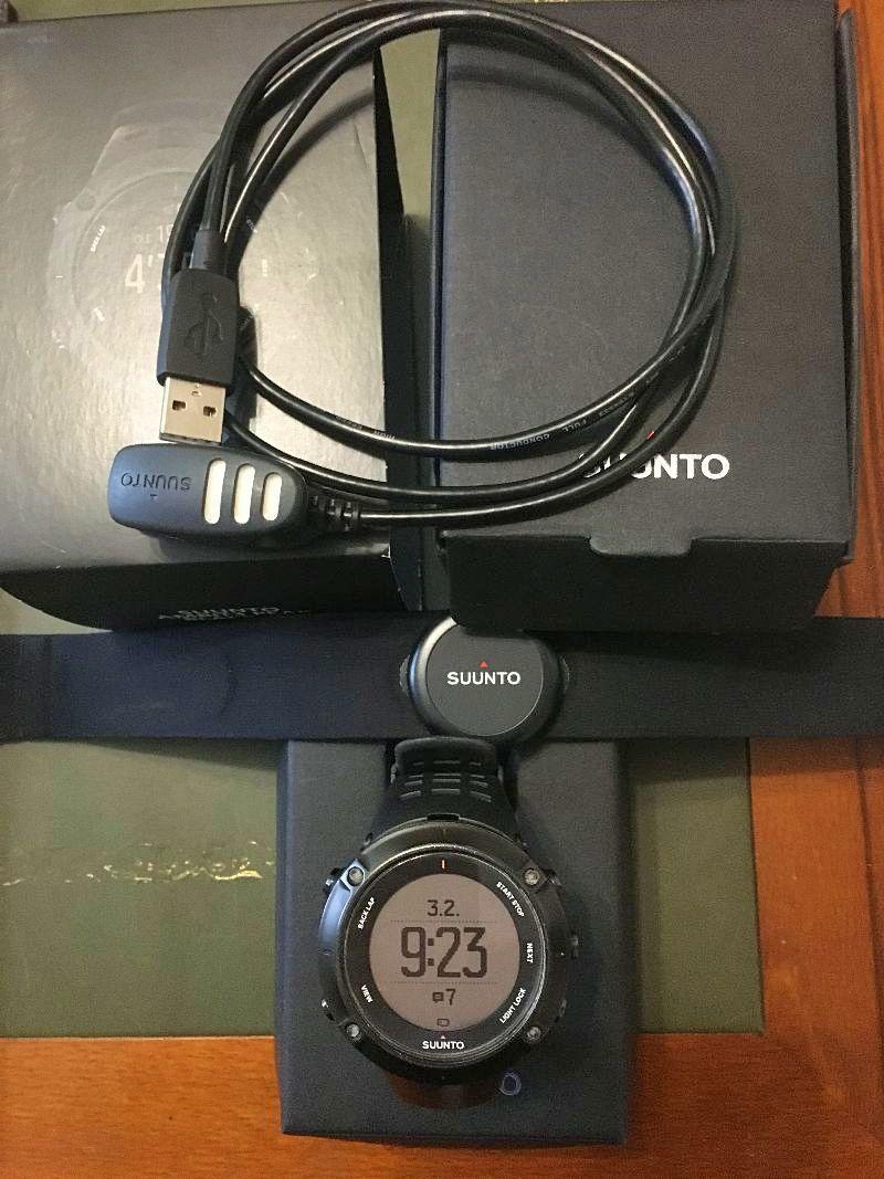 Montre GPS Suunto AmbiT3Peak Black HR
