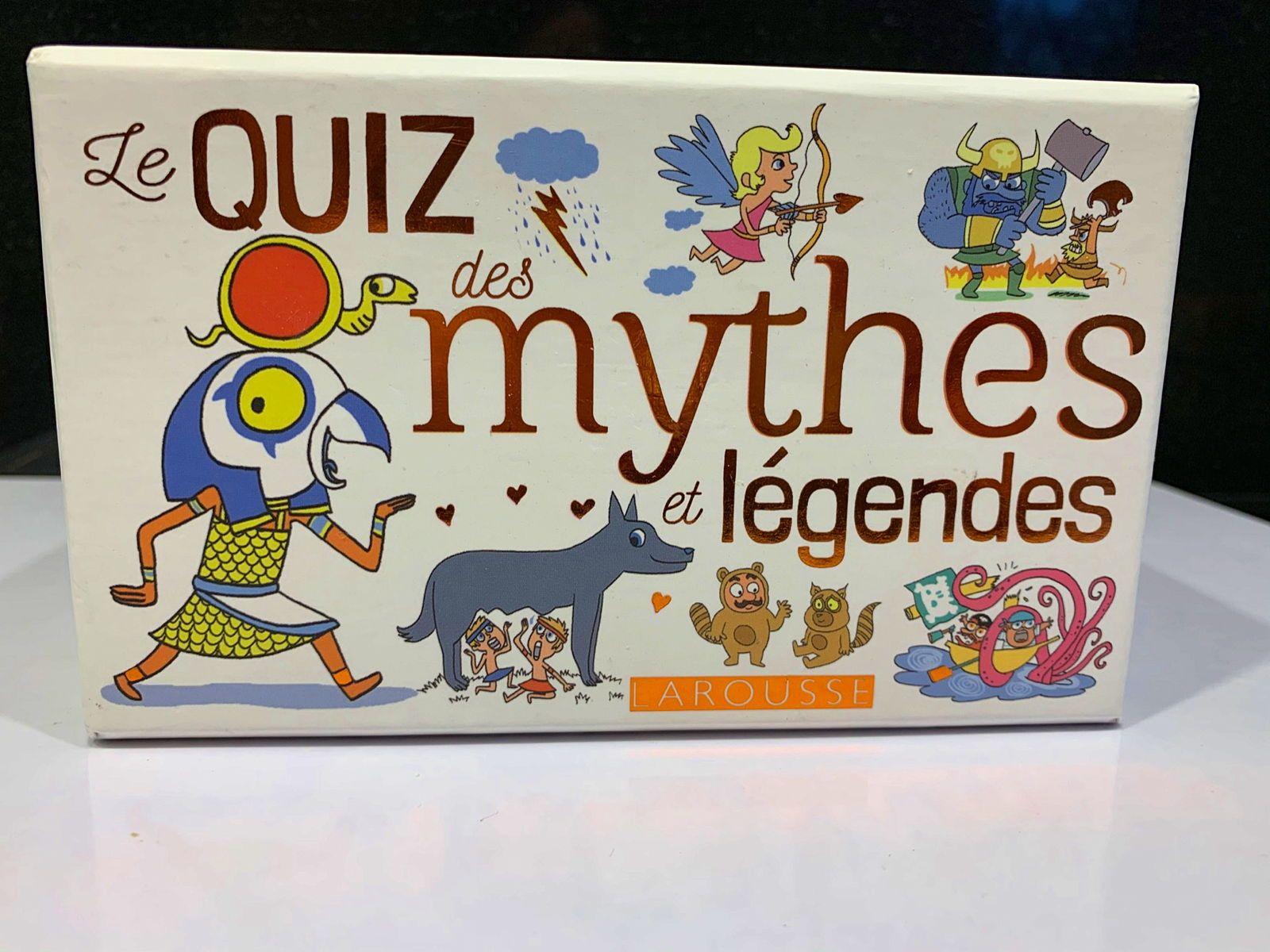 Quiz des mythes et légendes - Larousse