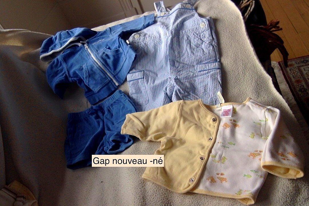 Vêtements Gap nouveau-né - Taille 3mois