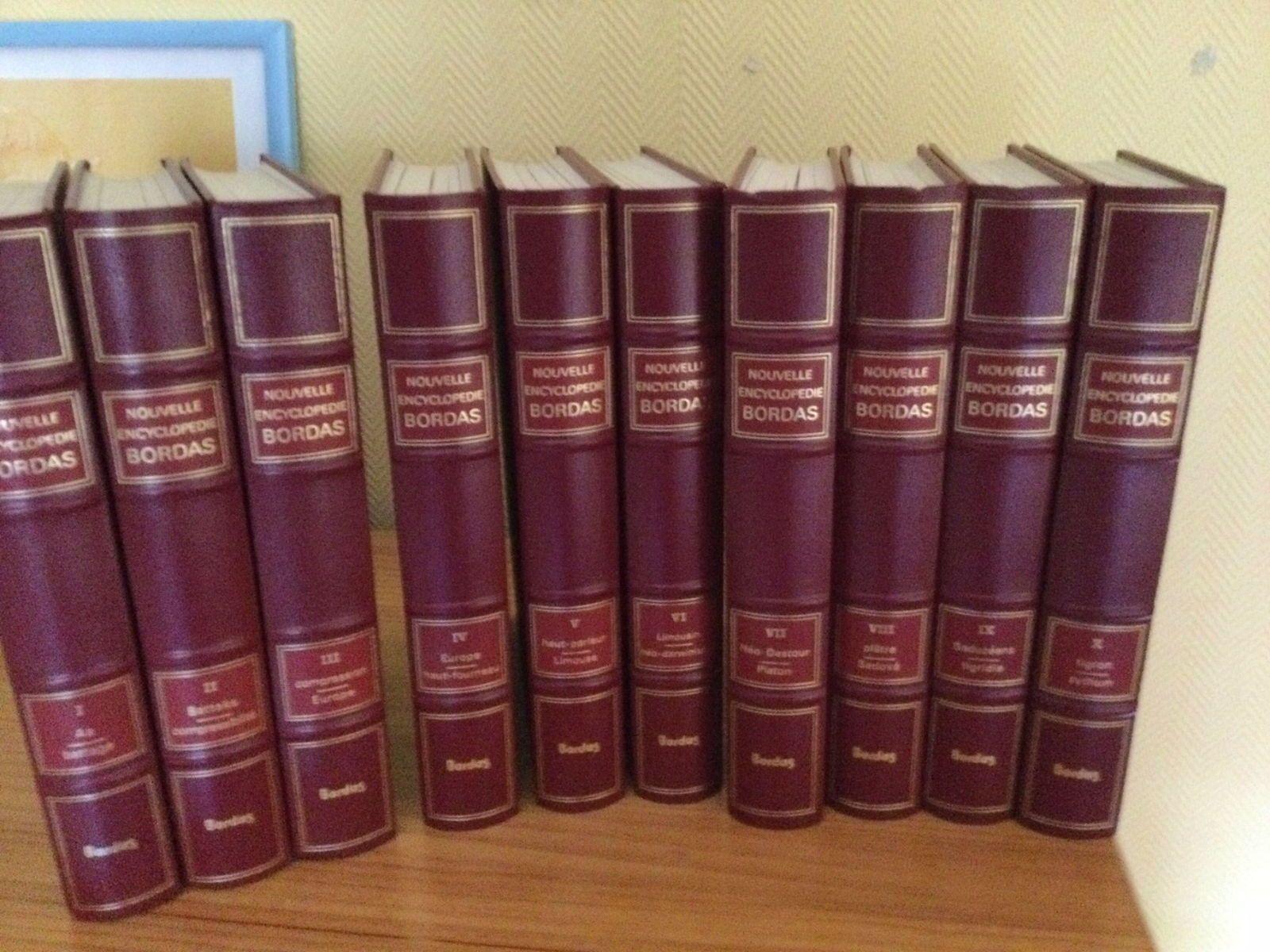 Nouvelle Encyclopédie Bordas en 10volumes