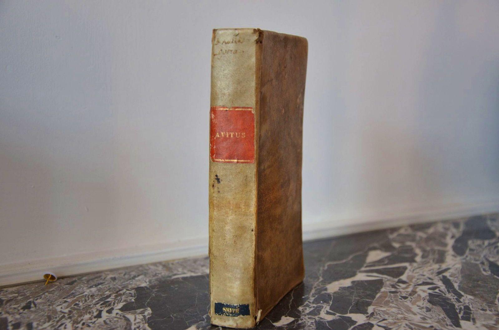 Oeuvres d'Avit de Vienne, 1643(ex-libris)