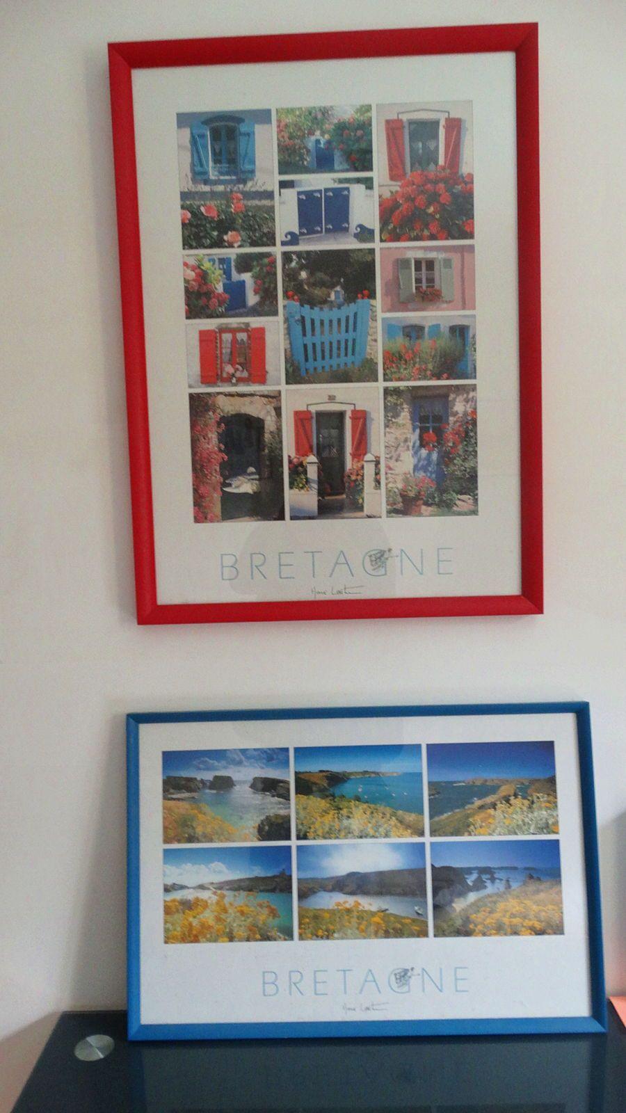 """Vends paire d'affiches """"Bretagne"""""""