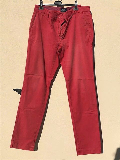 Pantalon chino homme framboise Mason's taille 48