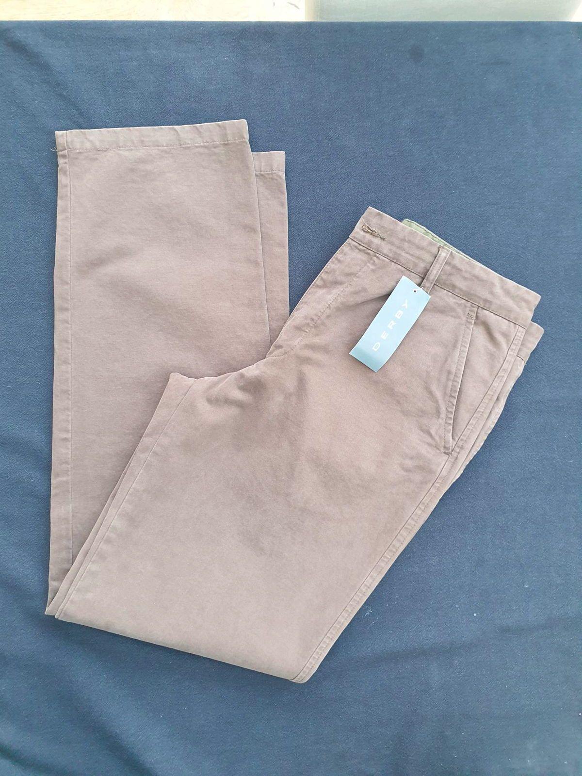 Pantalon homme neuf avec étiquette taille 40chocolat