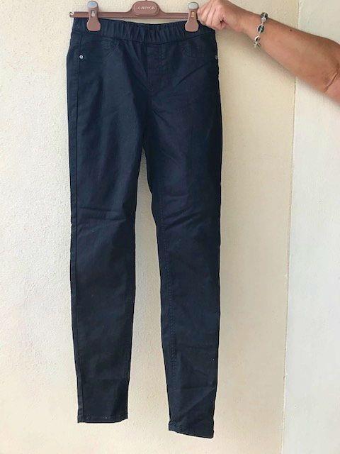 Pantalon stretch noir Yessica 36