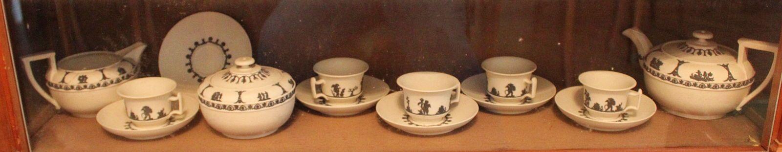 Partie de rare service à thé en Wedgwood