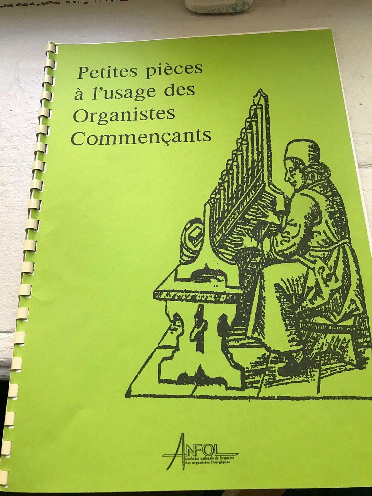 Partitions: Petites pièces à l'usage des organistes commançants