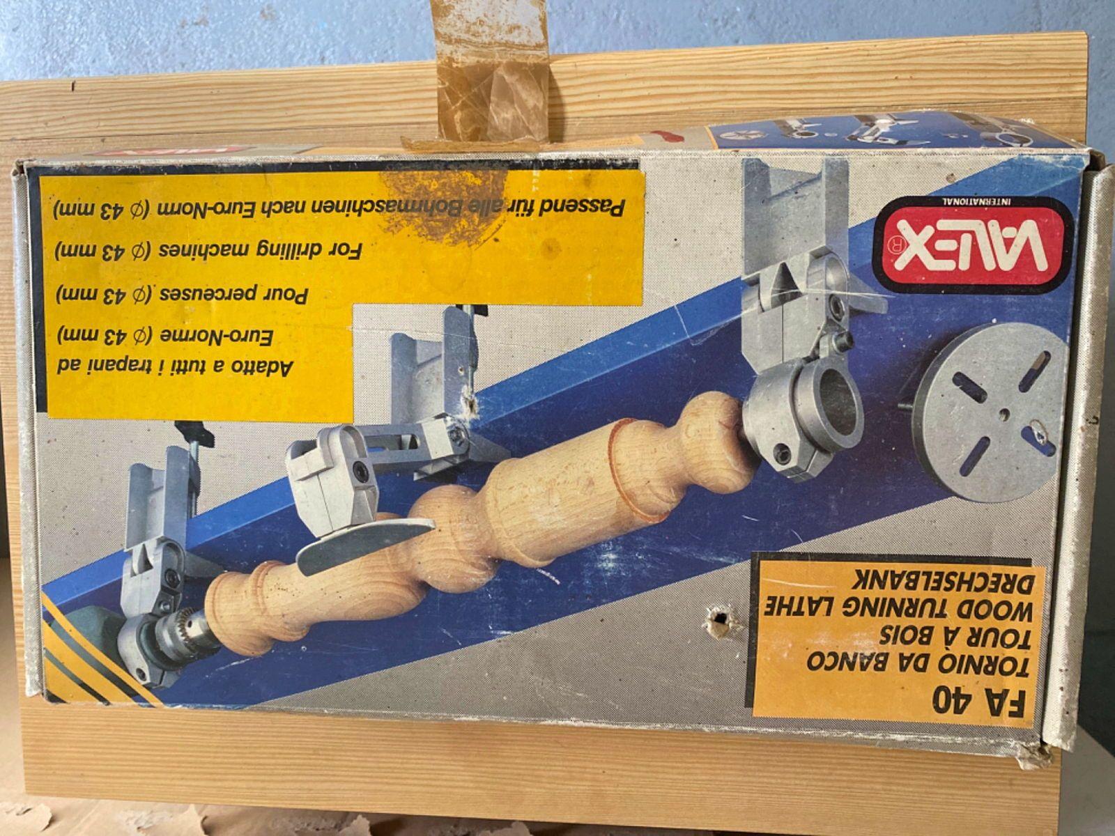 Tour à bois pour perceuse 43mm référence FA40Valex