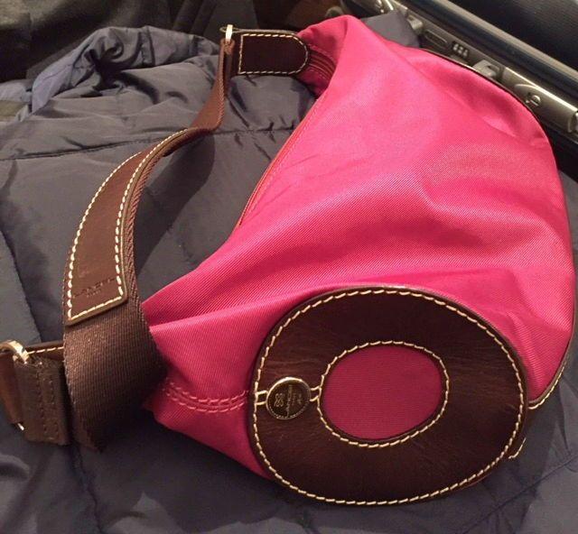 Petit sac Miss LANCEL toile/cuir