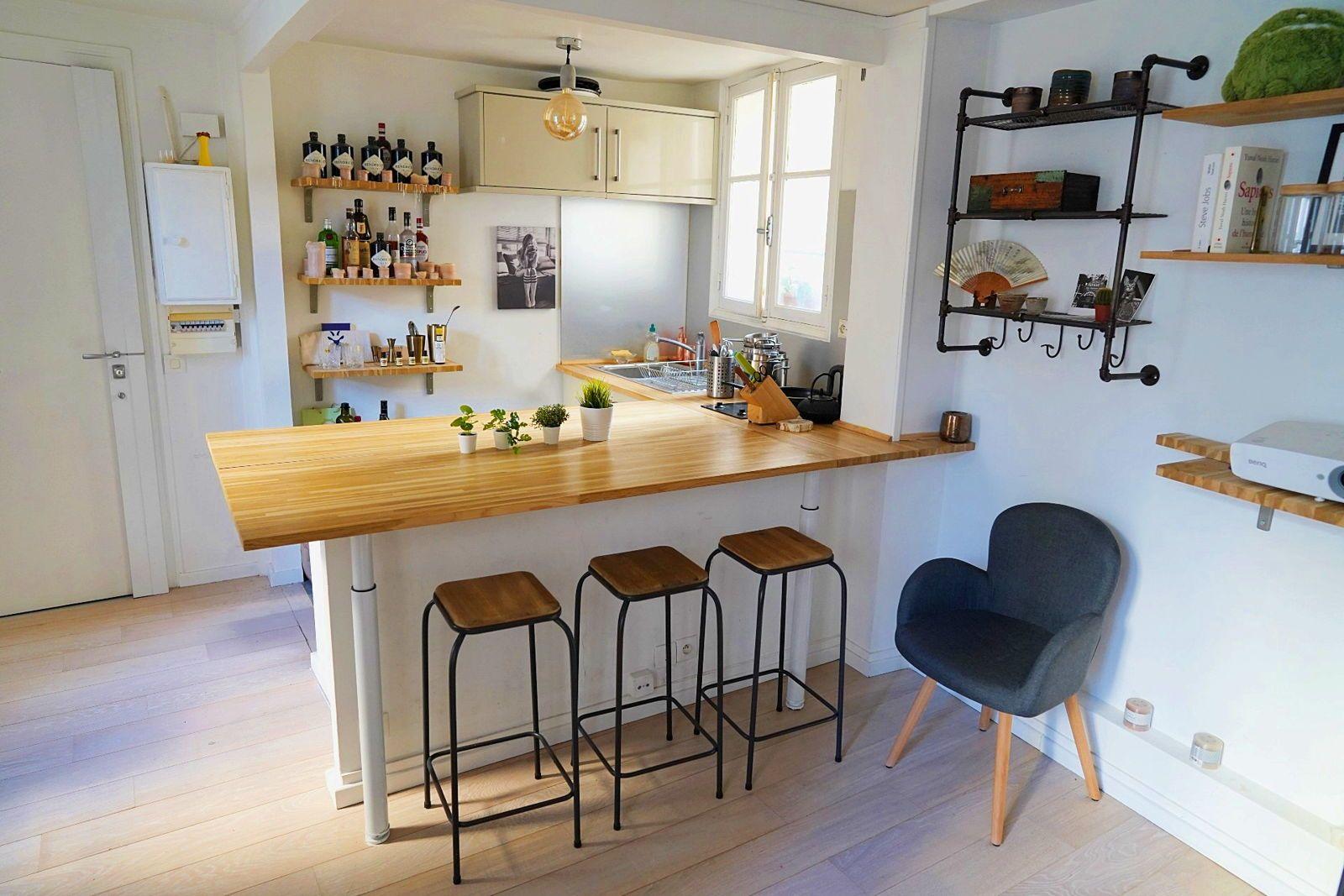 Loue 2pièces meublé 26m² à Saint-Germain-des-Prés