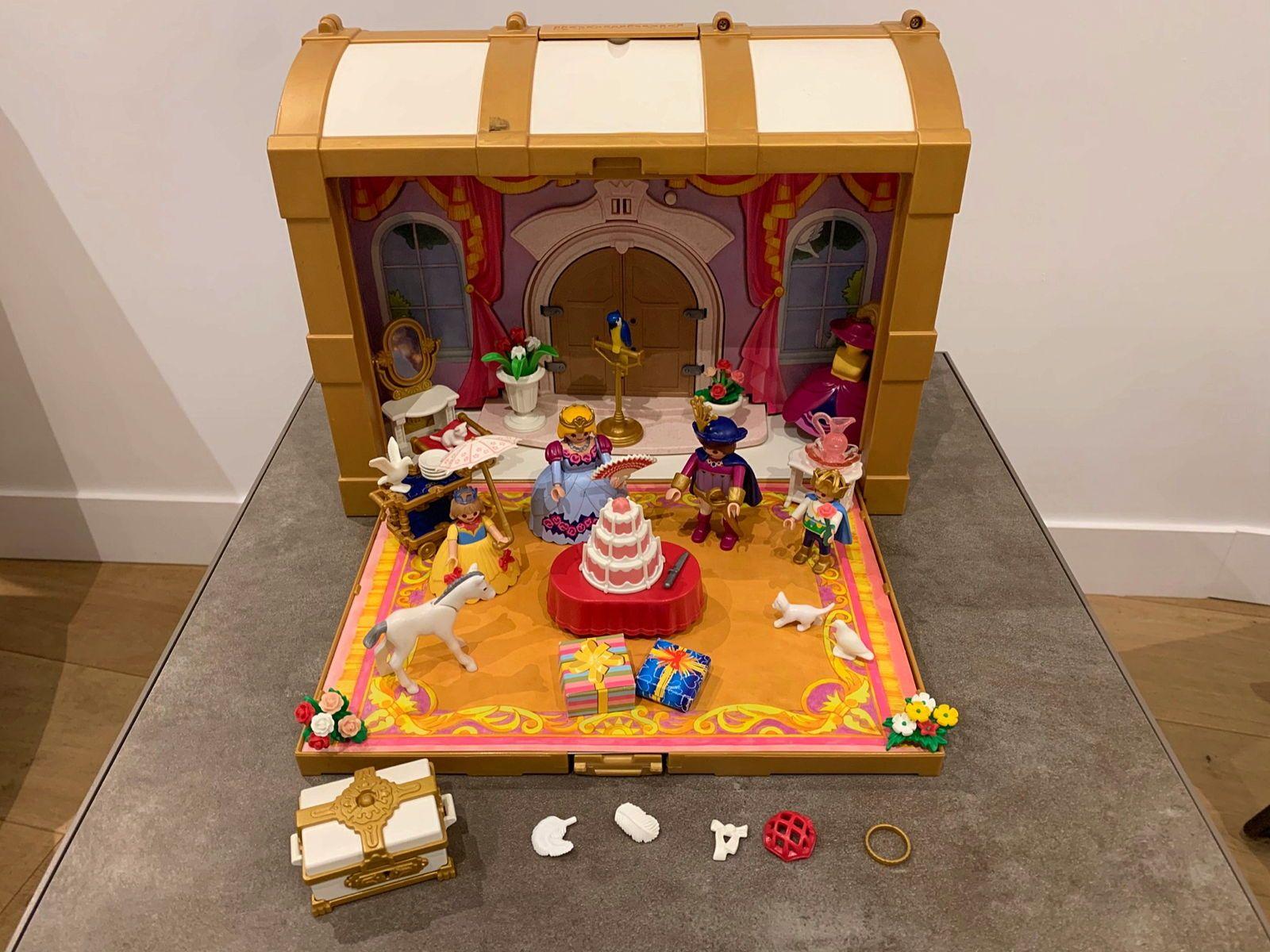 Playmobil 4249- Coffre de princesses transportable