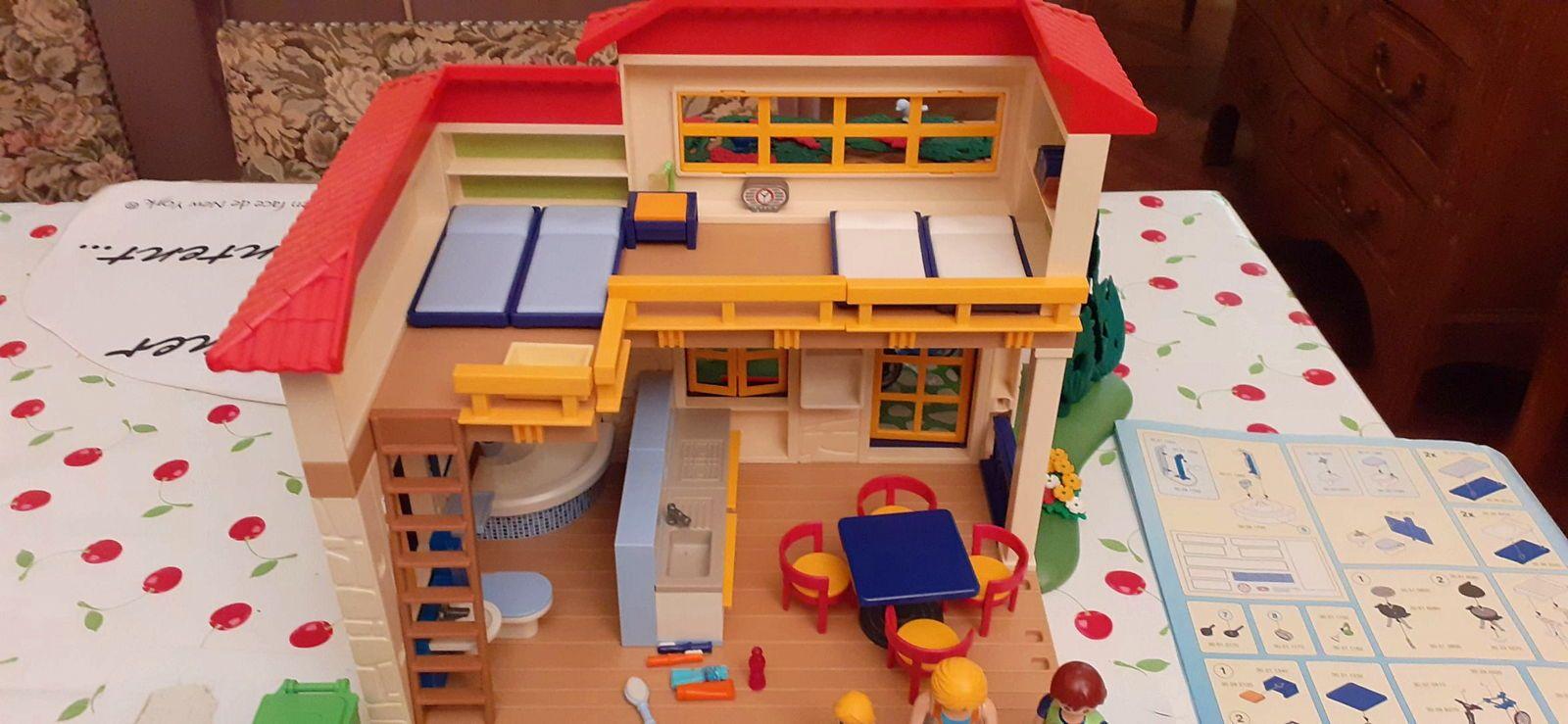 Playmobil maison de vacances