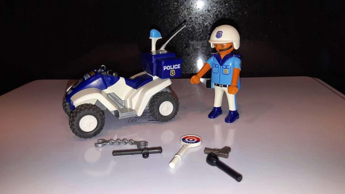 Playmobil 3655- Policier et quad