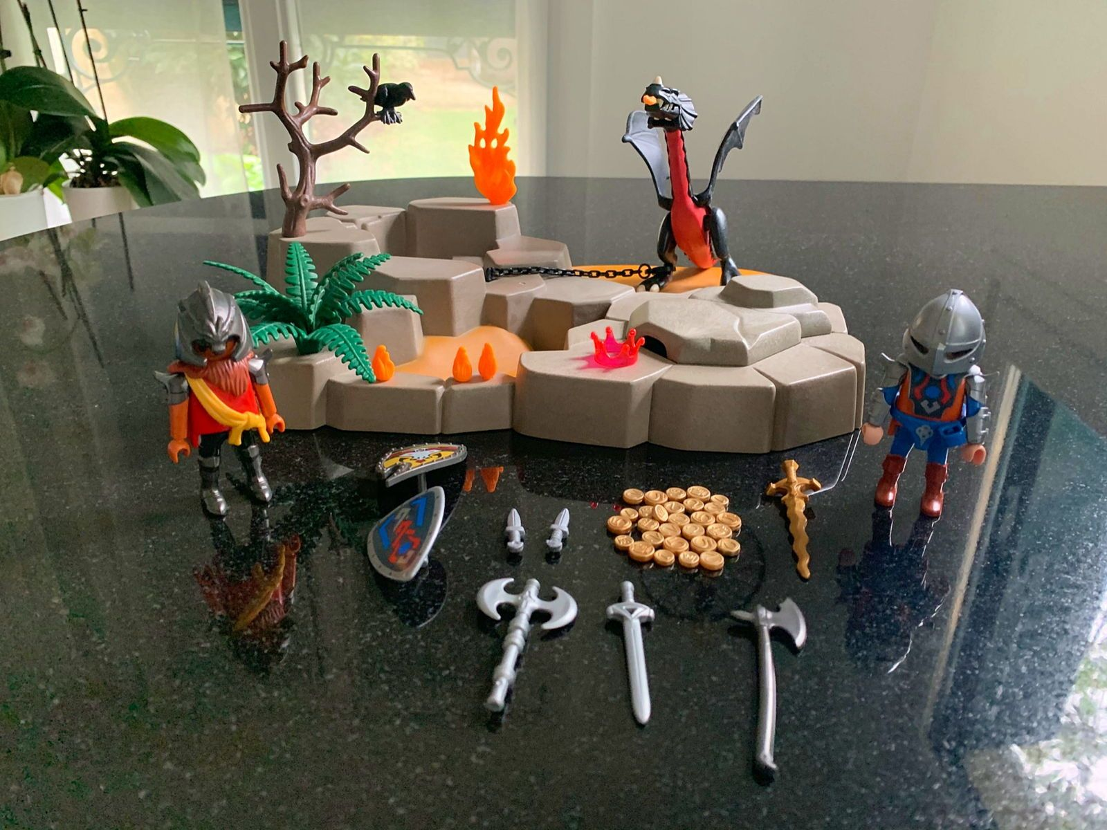 Playmobil 4006- Superset Chevaliers Dragons