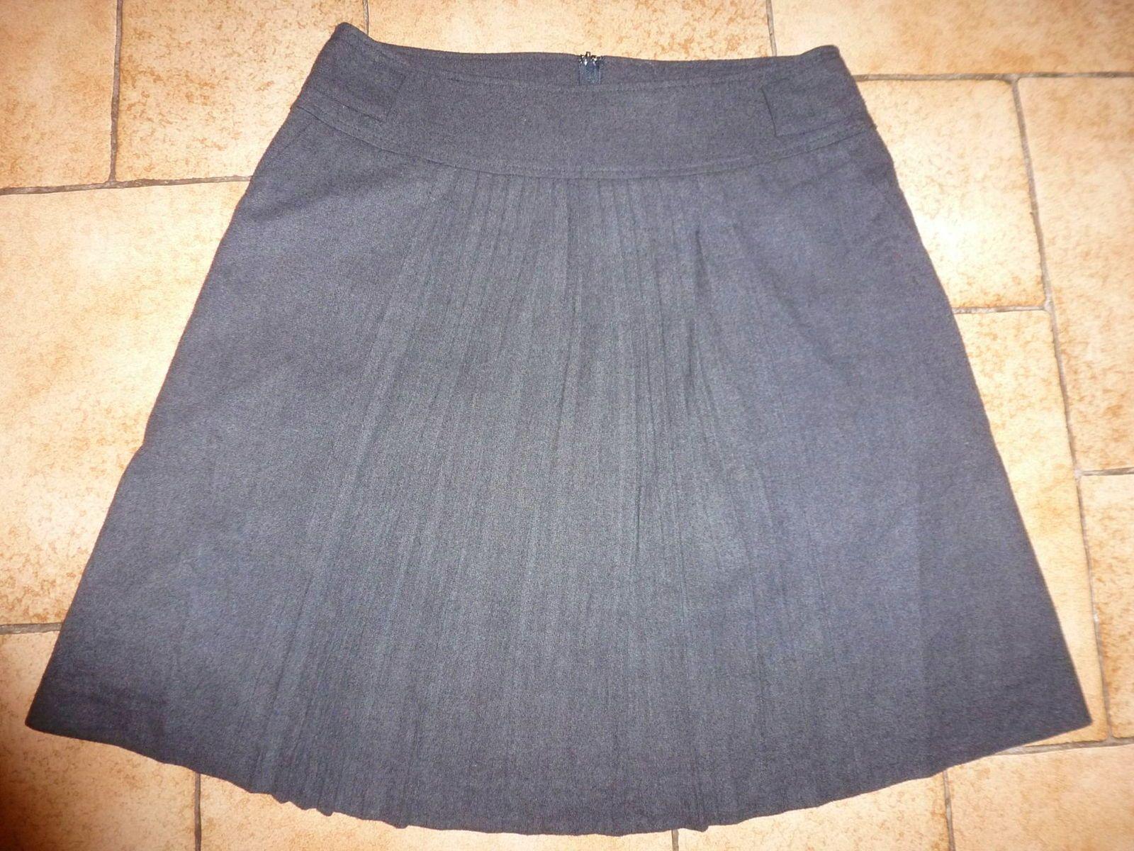 Jupe plissée lainage taille 40neuve