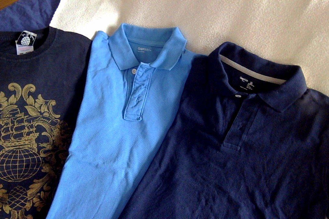 Vends 2polos Gap, 1t-shirt Inthe land 10ans