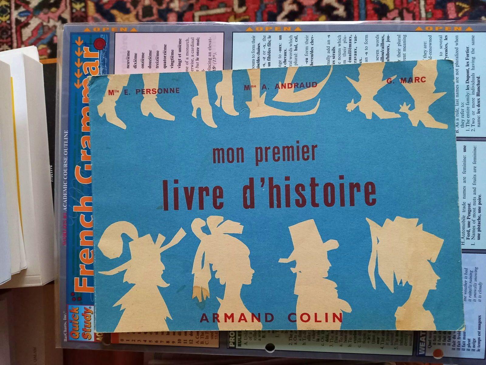 Mon premier Livre d'Histoire de France, 1957