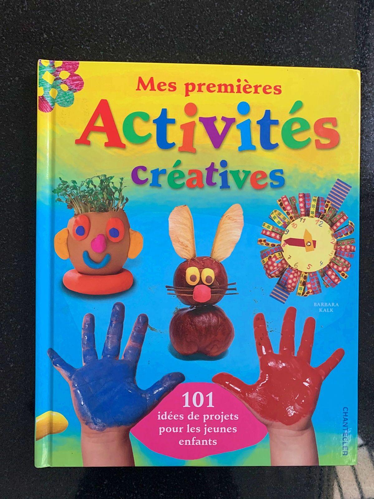 Mes premières activités créatives (dès 3ans)