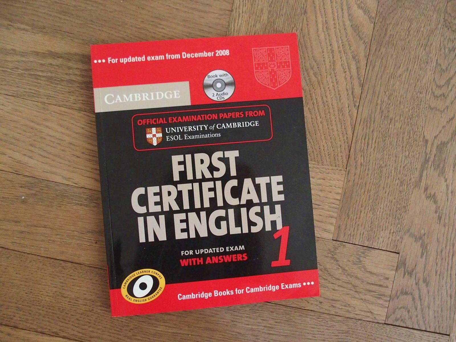 Pour se préparer au Cambridge First Certificate