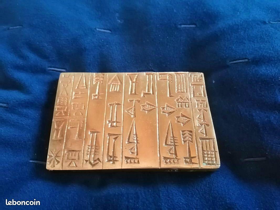 Presse-papier en bronze