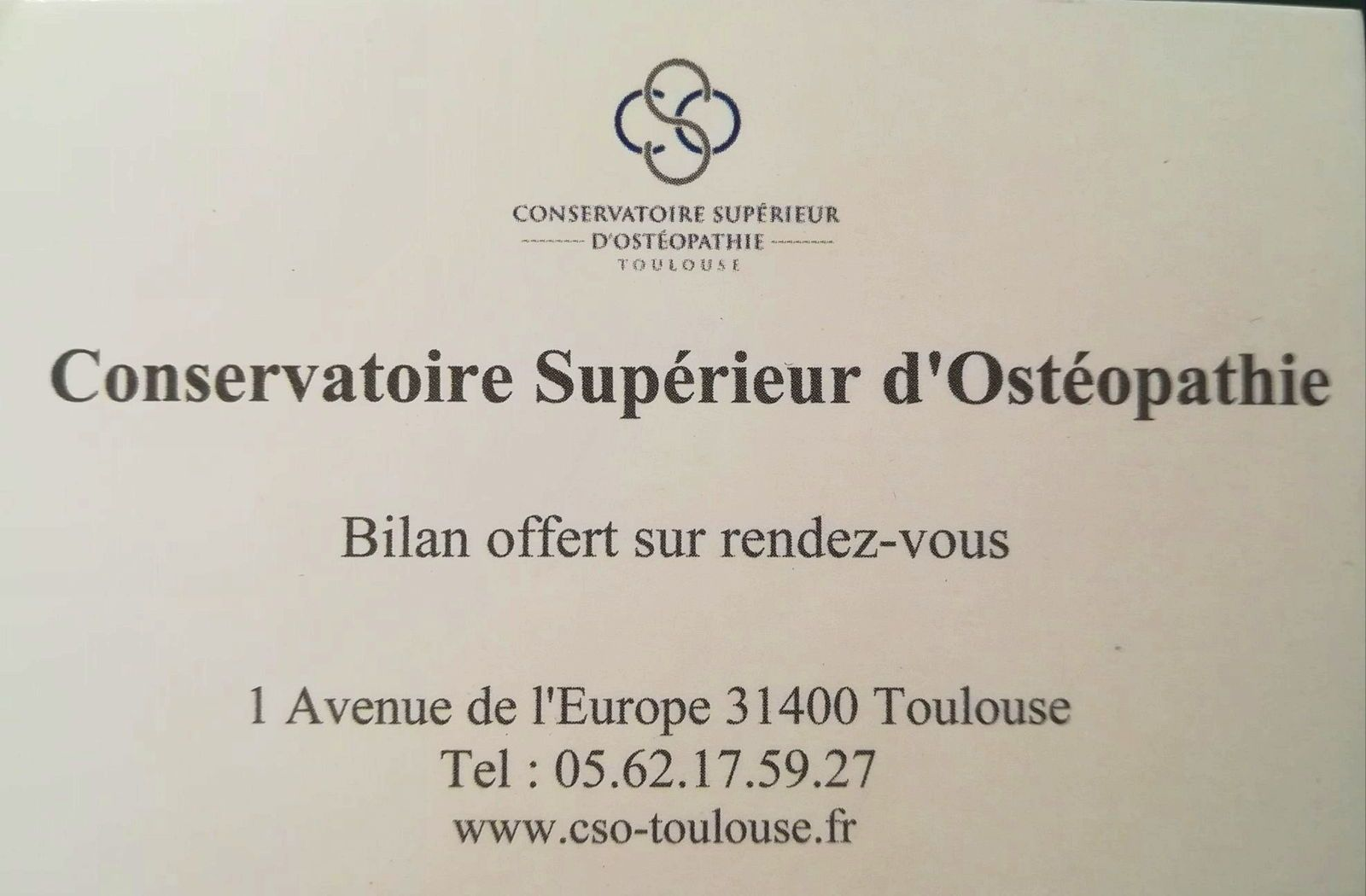 Propose bilan ostéopathique gratuit